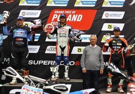 Championnat du Monde de Supermotard 2015, round 4: Hermunen gagne, Chareyre hors du podium