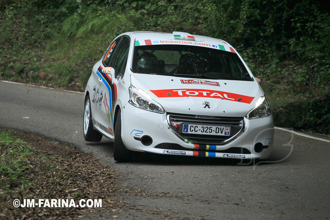 IRC San Remo : les photos de Jean-Marie Farina et le crash d'Hanninen en vidéo