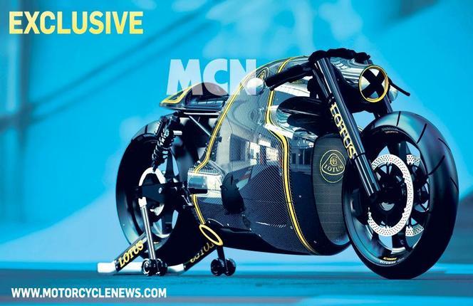 Lotus C-01: 1ères images de la moto Lotus