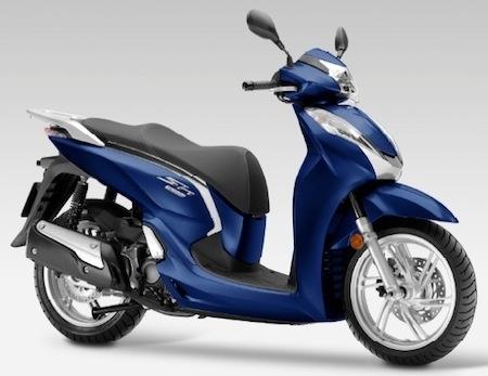 Nouveau Honda SH300i: la disponiblilité, le prix