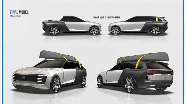 Volkswagen Varok : un joli concept dessiné par des anciens de la marque allemande