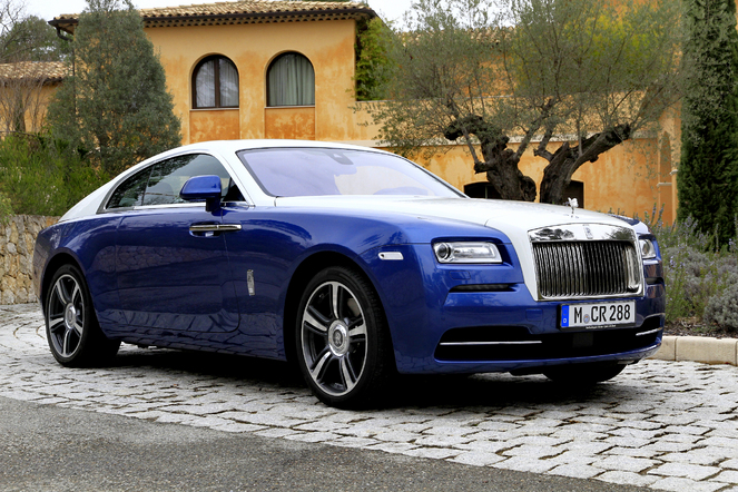 """Essai vidéo - Rolls Royce Wraith : """"whisky, cigars, and low sports"""""""