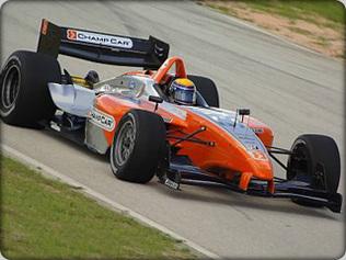 Panoz Champ Car: Elle tourne