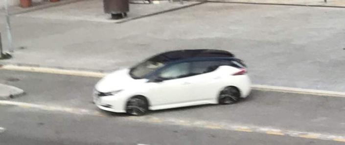 La nouvelle Nissan Leaf aperçue sans camouflage