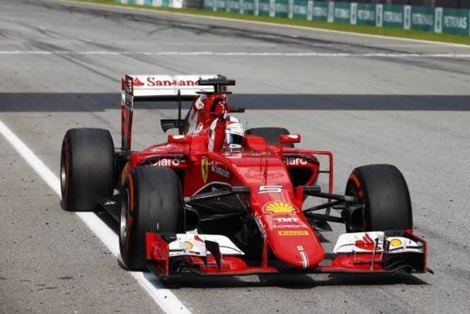 F1 Malaisie - Vettel et Ferrari surprennent Mercedes
