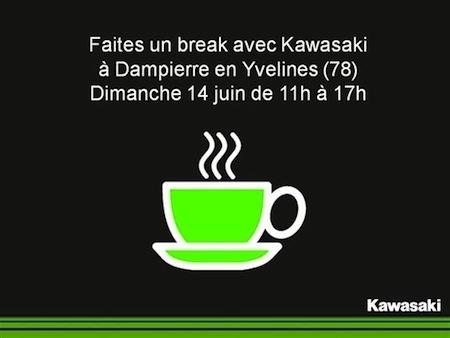Kawasaki: vous prendrez bien un café le dimanche 14 juin 2015?