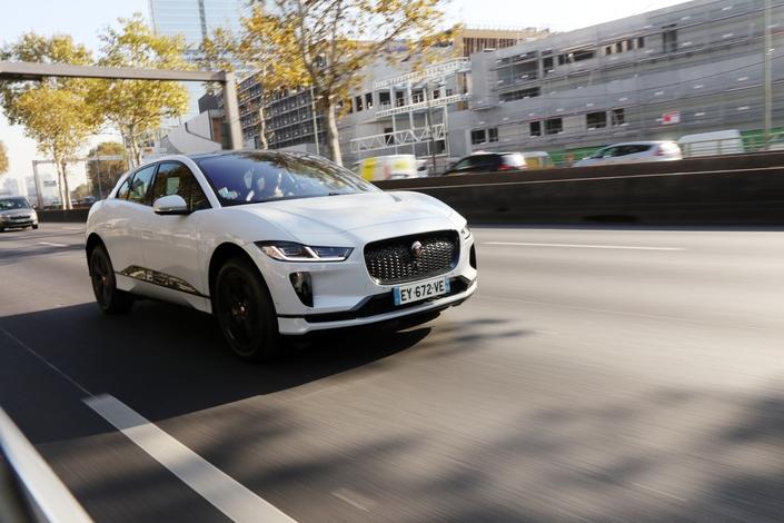 Le Jaguar I-Pace jusqu'à la panne: du muscle et du souffle