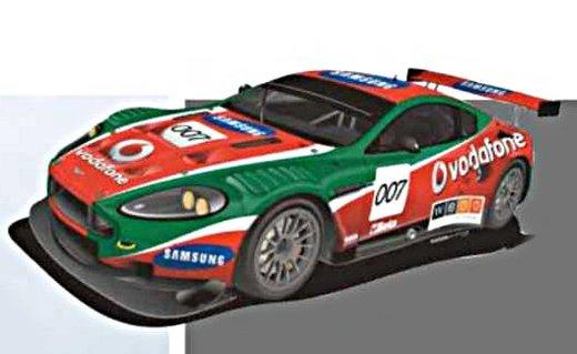 Une Aston Martin DBRS9 en rallye !