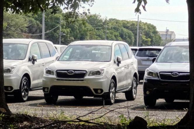 Surprise : le futur Subaru Forester