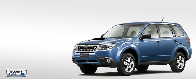 Surprise : le futur Subaru Forester