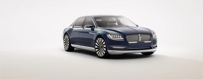 Salon de New York : Lincoln dévoile la Continental Concept