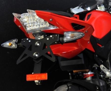 Top Block: kit de protection et support de plaque pour BMW S 1000 RR (2012)