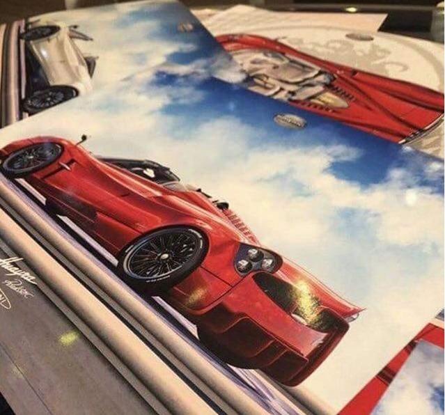 Salon de Genève 2017 : la Pagani Huayra Roadster s'annonce
