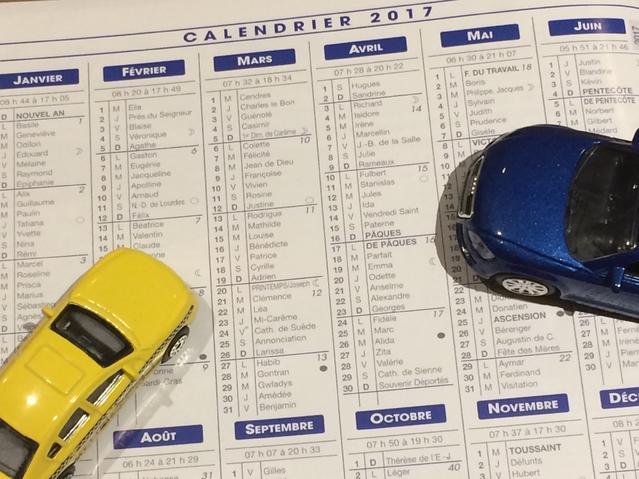 Le calendrier automobile 2017: salons, sport, loisirs…