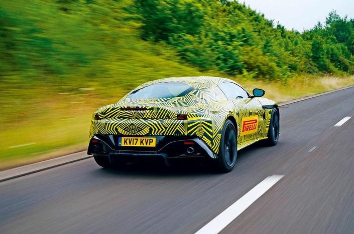 Nouvelle Aston Martin Vantage: bientôt prête