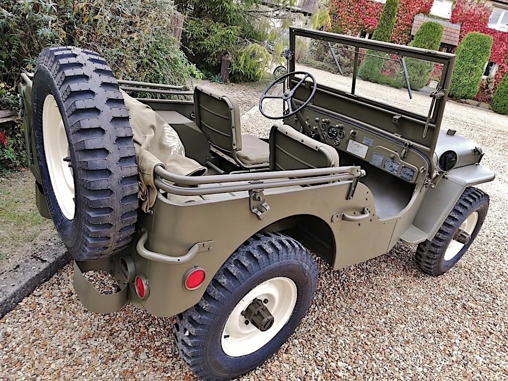 L'ancienne Jeep Willys de Steve McQueen bientôt à vendre
