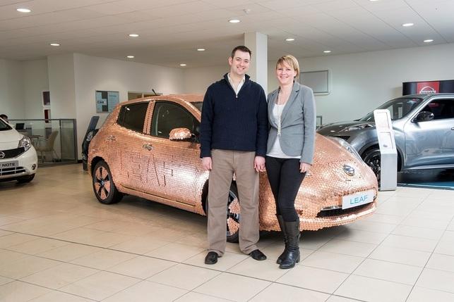 La Nissan Leaf atteint les 100 000 exemplaires produits