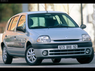 La Renault Clio 2 avant restylage
