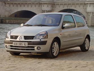 La Renault Clio 2 phase 2 (après son premier restylage)