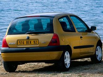 L'arrière de la Clio 2 avant restylage (en 3 portes)