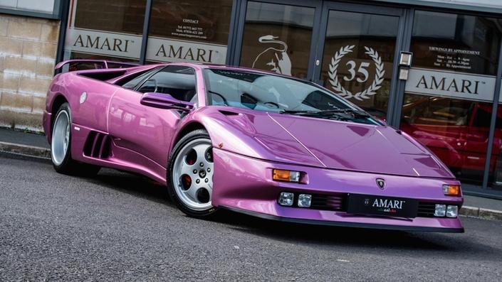La Lamborghini Diablo du clip de Jamiroquai à vendre à prix fort
