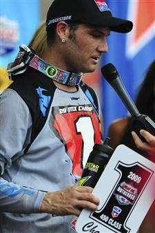MX US : Chad Reed champion 450 2009