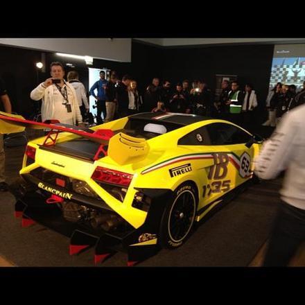 Voici la Lamborghini Gallardo LP 570-4 Super Trofeo 2013