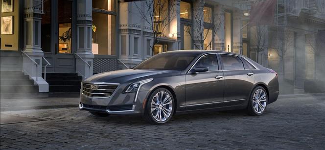 Salon de New York : voici la Cadillac CT6