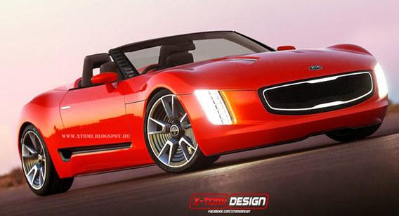 Kia GT4 Stinger: en roadster aussi SVP!