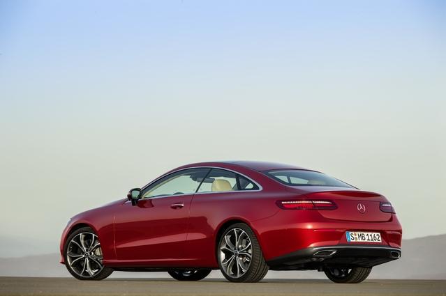 Nouvelle Mercedes Classe E Coupé: à partir de 53150€