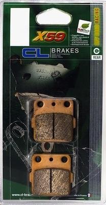CL Brakes  X59: plaquettes pour le TT.