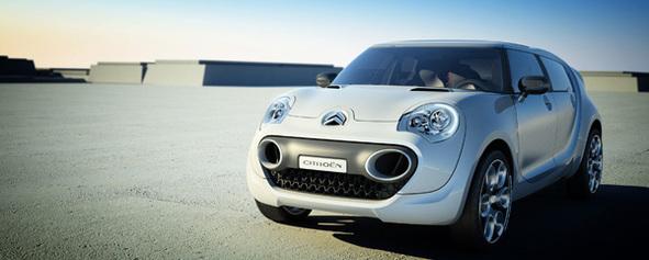 Salon de Francfort : avec le Citroën C-Cactus, piqué au vif de l'écologie !