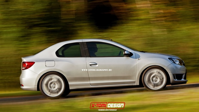 (Design) Un coupé Dacia: juste pour le plaisir