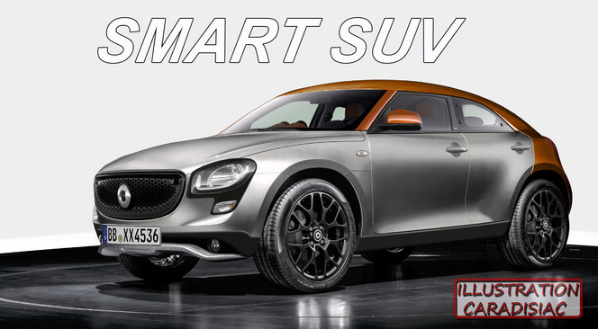 Smart veut son SUV !