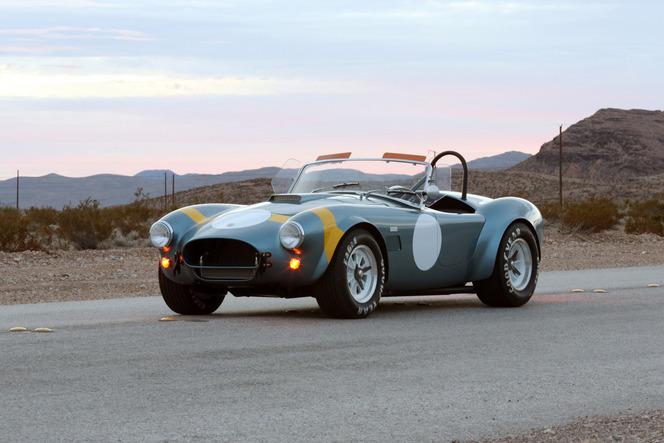 Shelby : une série spéciale pour les cinquante ans de la Cobra 289 FIA