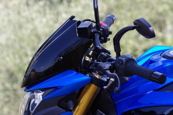 Saute-vent Ermax Sport: l'essai (Suzuki GSX-S 750)