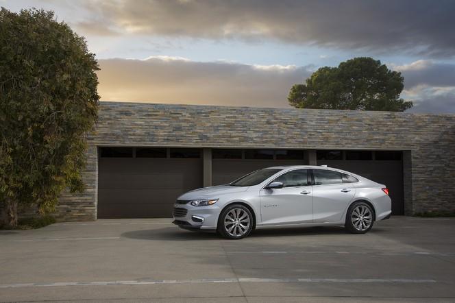 Salon de New York : Chevrolet dévoile la nouvelle Malibu
