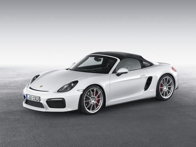 Salon de New York : voici le Porsche Boxster Spyder