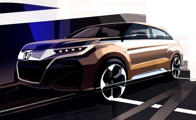 Salon de Shanghai : Honda annonce un concept de SUV