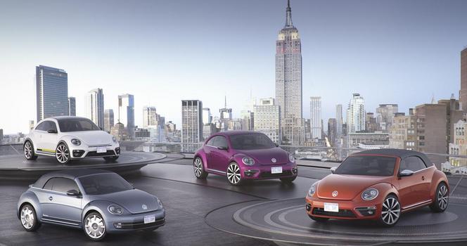 Salon de New York : Volkswagen expose 4 Coccinelle spéciales