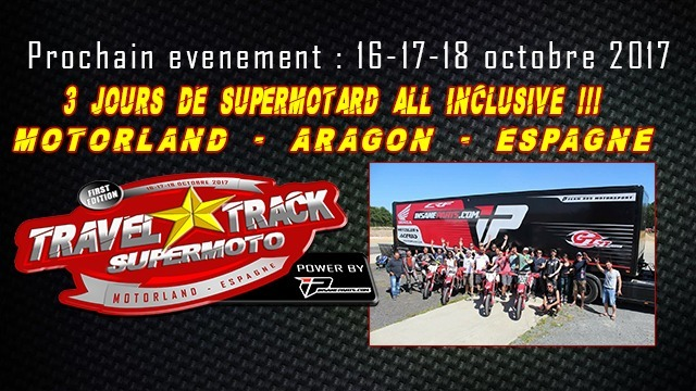 Travel Track Supermoto: la formule all inclusive