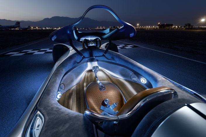 Mercedes AMG Vision Silver Arrow.