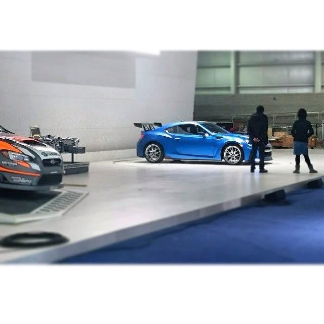 Surprise : Subaru amène un BRZ très sportif  à New York
