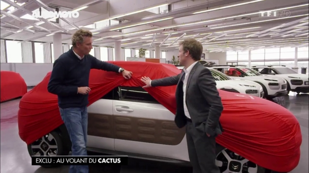 Surprise : le futur Citroën C4 Cactus ne craint pas le froid