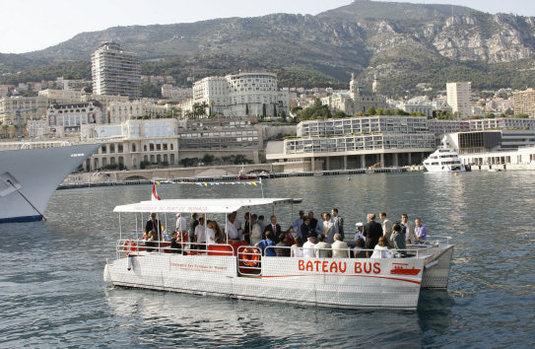 Monaco : un bateau-bus électrique, un mode de transport original