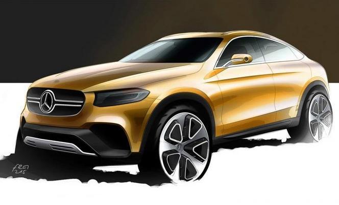 Mercedes GLC Coupé : un avant goût du futur modèle