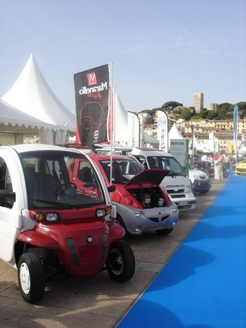 Salon de Cannes : espace de 600 m² consacré aux véhicules électriques !