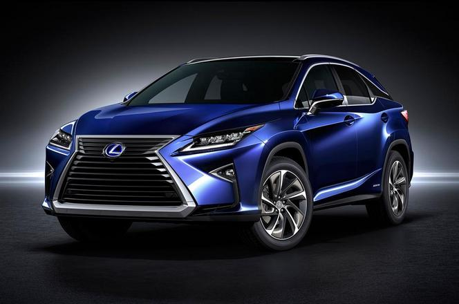 Salon de New York : voici le Lexus RX