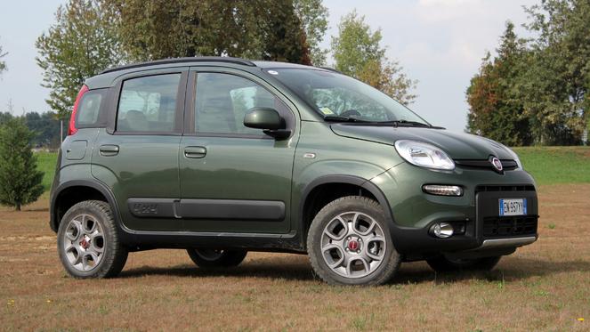 Essai vidéo - Fiat Panda 4x4 : petite mais costaud