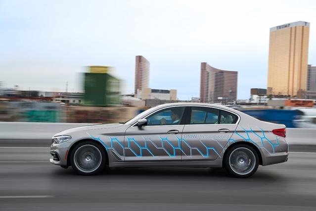 BMW au Consumers Electronics Show : une Série 5 bardée de nouvelles technologies